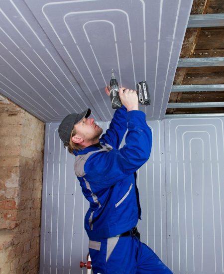 Uponor Renovis sienų, lubų šildymas_Šildymo sprendimai